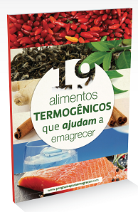 alimentos termogenicos para emagrecer PDF
